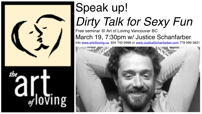 Art of loving dirty talk seminar