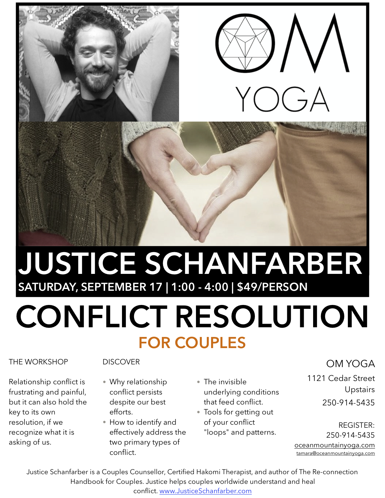 Conflict Resolution for Couples - Campbell River Workshop